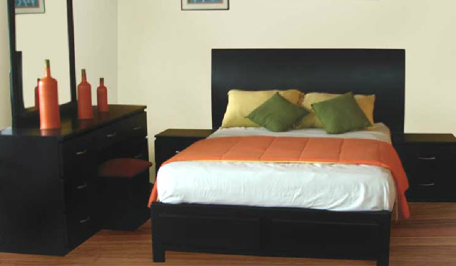 Dormitorio Modelo Maricarmen - Nogal mate
