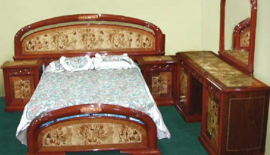 Dormitorio Modelo Danny - Marqueteado Brillante