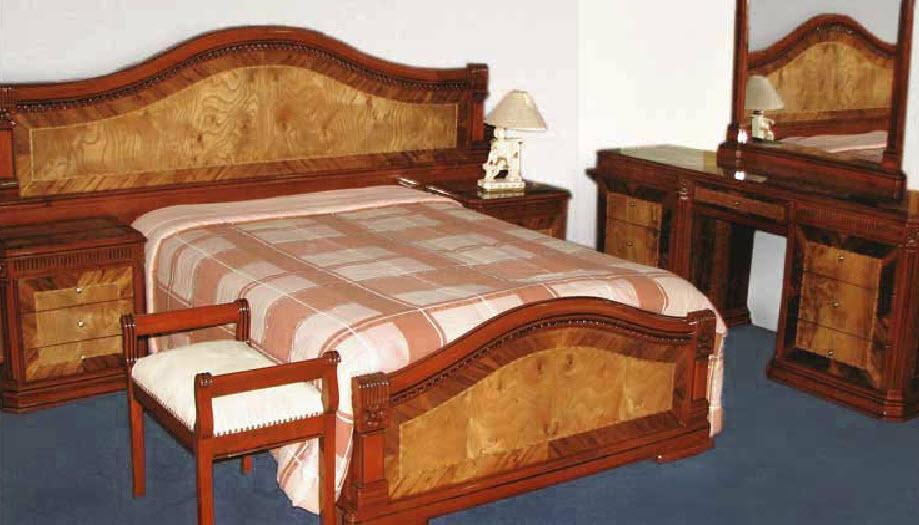 Dormitorio Modelo Charito - Marqueteado Brillante