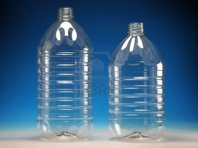botellas de plstico capacidades de 5 y 7 lt