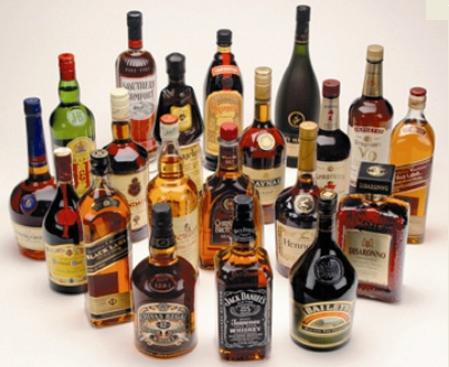 Alcoholicas mezclas de bebidas
