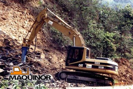 Comprar Martillo Hidráulico KRUPP HM 780