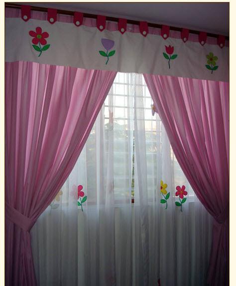 cortinas para niñas
