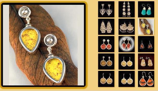 22bd9e369493 Aretes de plata comprar en Miraflores
