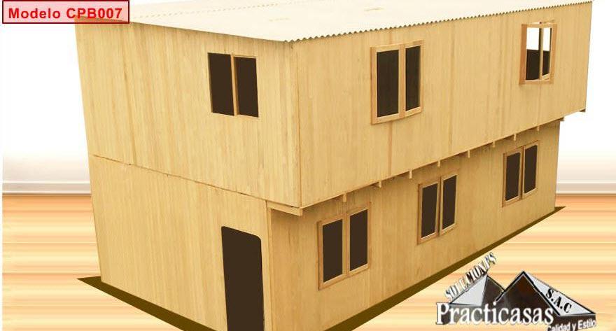 Casa Prefabricada De Madera Comprar En Puente Piedra