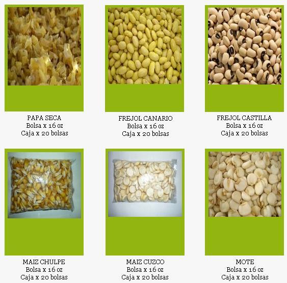 Comprar Cereales secos