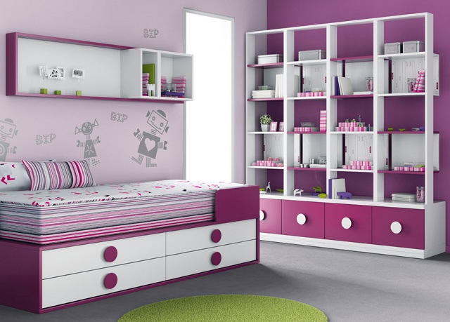 dormitorio juvenil nia - Muebles Nina