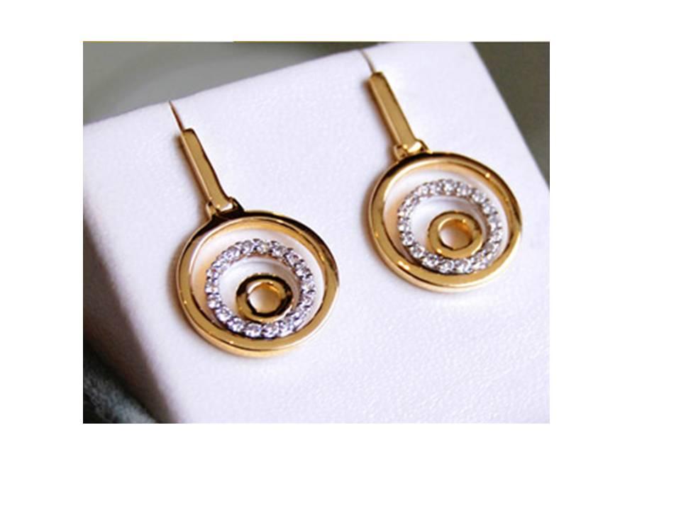 13ec315325d9 Aretes de Oro con Piedras Preciosas comprar en Miraflores