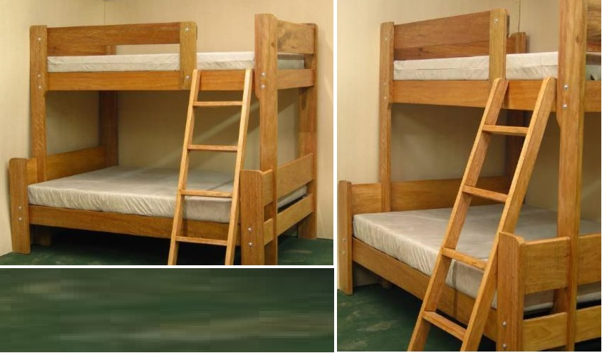 Camas para dormitorios hecho en Pura Madera — Comprar Camas para ...