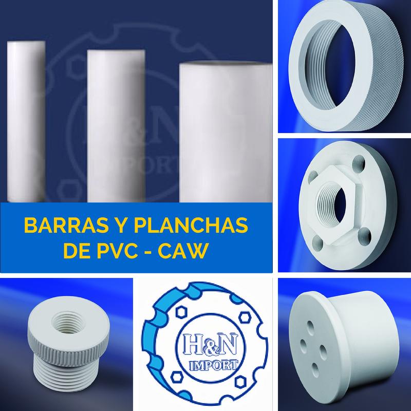 Comprar Barras y Planchas de PVC