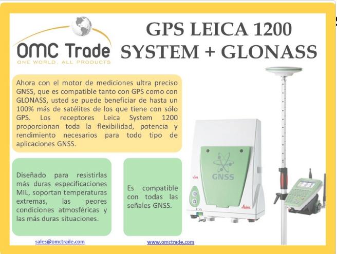 Comprar GPS DIFERENCIAL LEICA