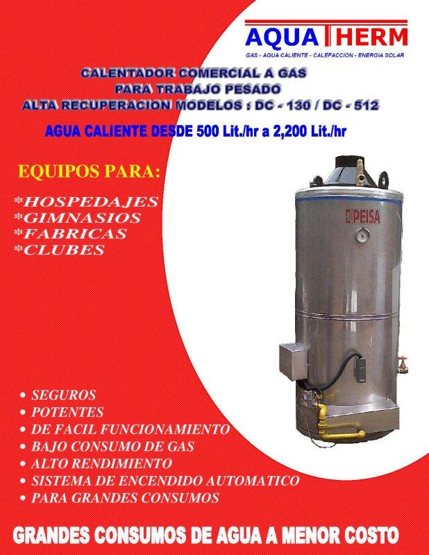 Comprar Calentadores de agua a gas para hoteles
