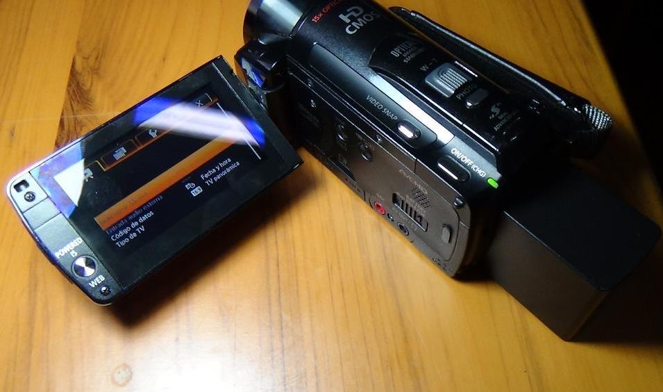 Comprar Filmadoras Canon Vixia Hf-m31 Full Hd Semi Profesional 32gb