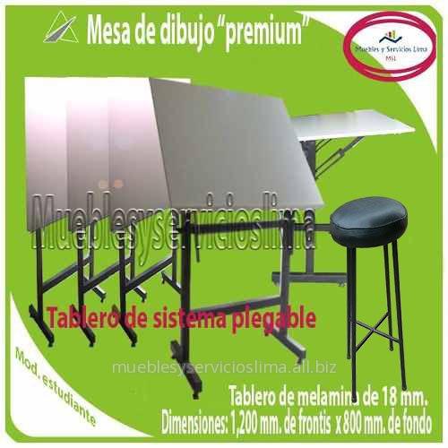 Mesa De Dibujo linea Premium Con Tablero Plegable for sale in