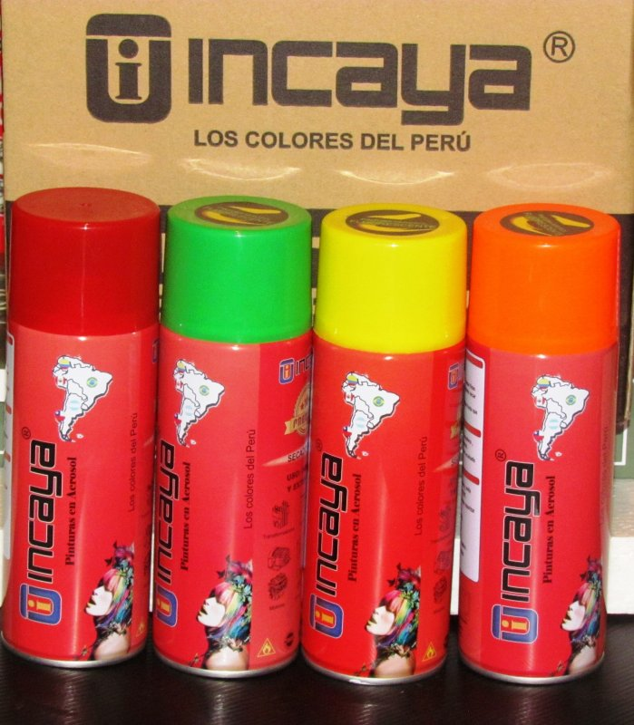 Comprar PINTURAS SPRAY INCAYA