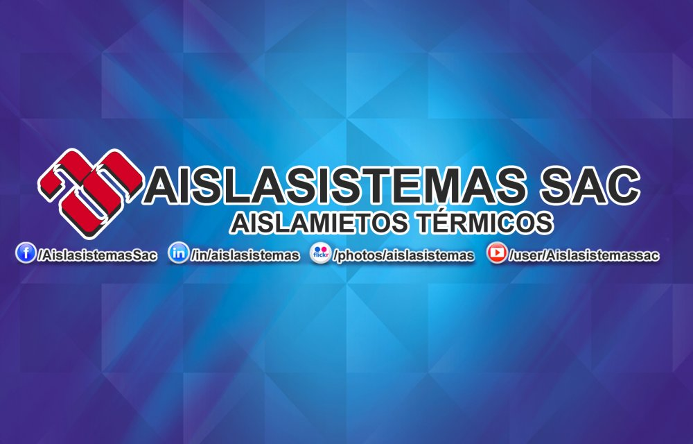 "Comprar AISLAMIENTOS TÉRMICOS - Aislasistemas SAC ""Aislamientos Térmicos"""