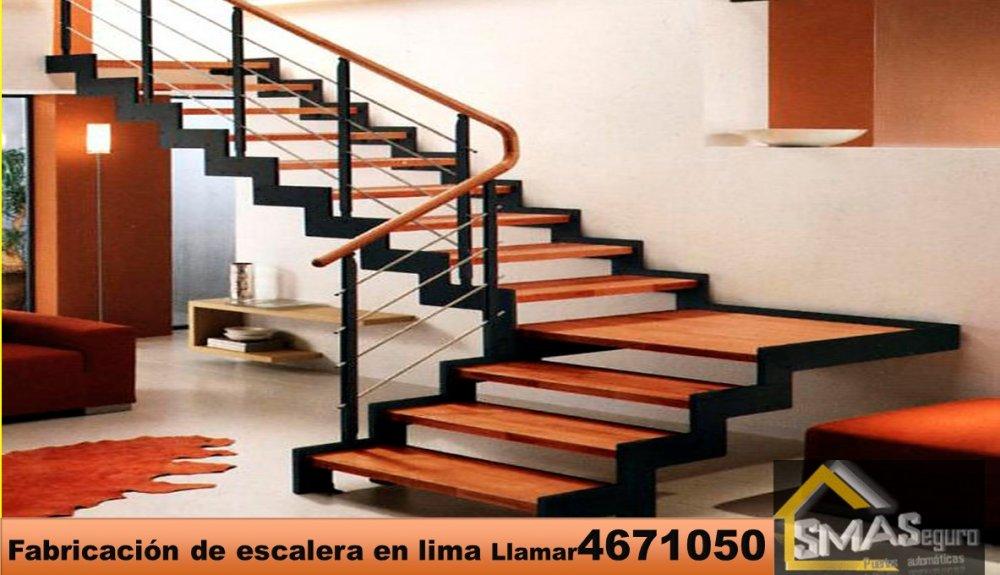 fabricantes de escaleras de metal para interior