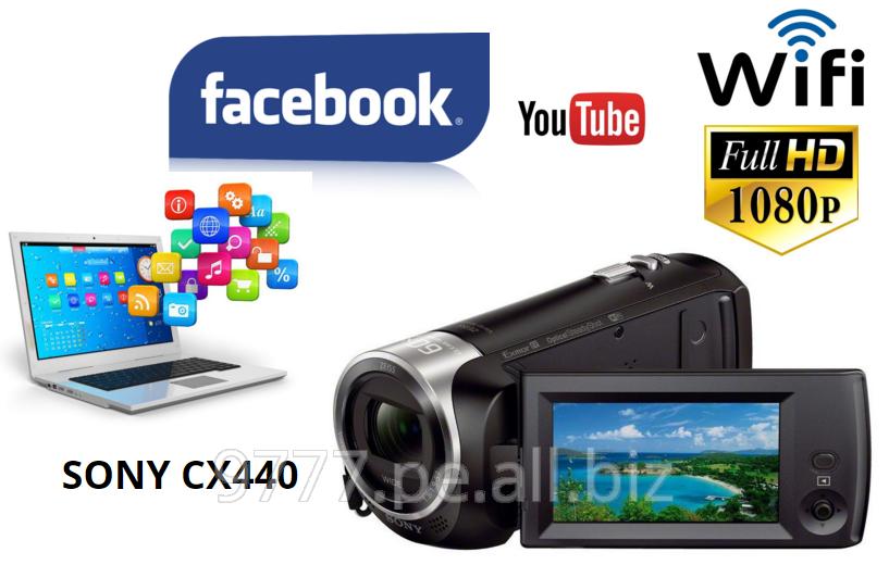 Comprar Filmadora sony handycam sony cx440 full hd con WiFi en altisima calidad