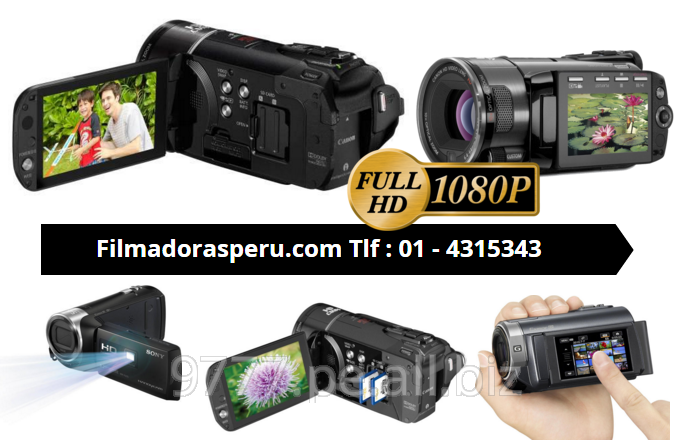 Comprar Filmadoras en full hd en lima peru envios a nivel nacional