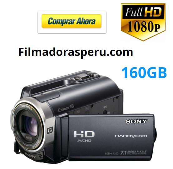 Comprar Filmadora Sony Xr350 Full Hd Tactil 160gb fotos flash entrada zapata