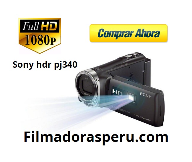 Comprar Filmadora Sony Pj340 Full Hd 16gb Wi-fi Proyector Integrado