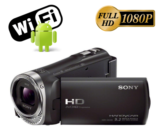 Comprar Filmadora Sony Cx330 Full Hd 60x Zoom Lcd 2.7 Wi-fi