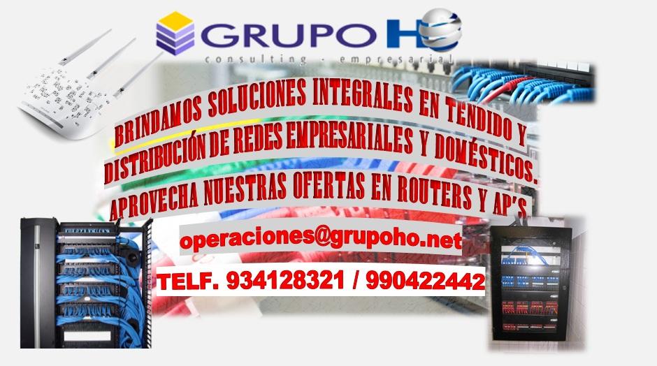 Comprar Sistemas de redes y distribución de internet.