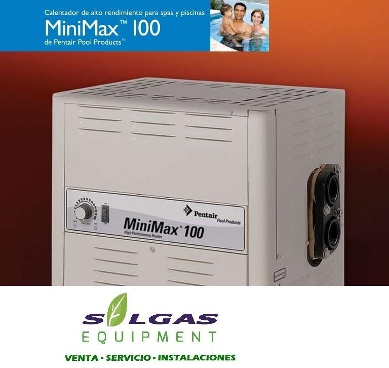 Comprar Pentair Calentadores De Piscina Minimax