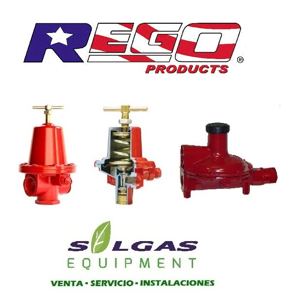 Comprar Reguladores Para Gas Rego U.s.a
