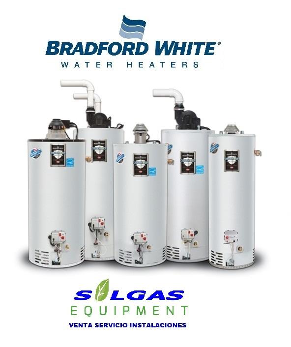 Comprar Bradford White Termotanques