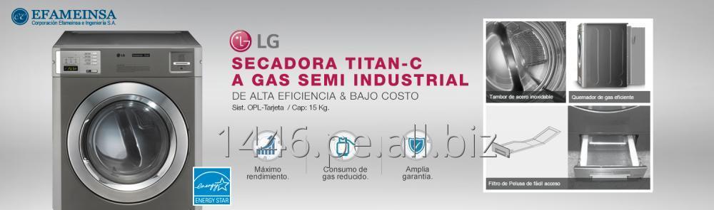 Comprar Secadora Comercial TITAN-C (Sist. OPL/Tarjeta) LG - Efameinsa S.A.