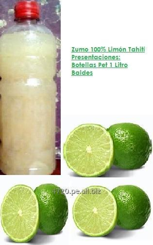 Comprar Zumo de Limón Tahití Congelado