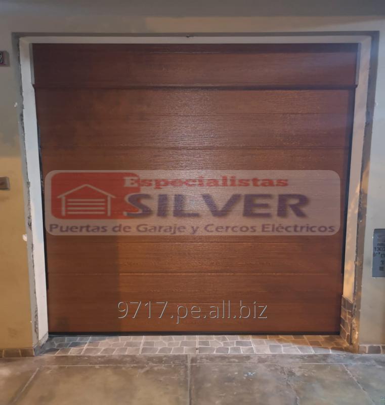 Comprar Sistema para puertas levadizas seccionales cercos eléctricos ESPECIALISTAS SILVER 944437627