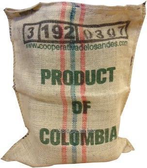 Comprar Sacos de yute importados para la industria exportadora del café y cacao