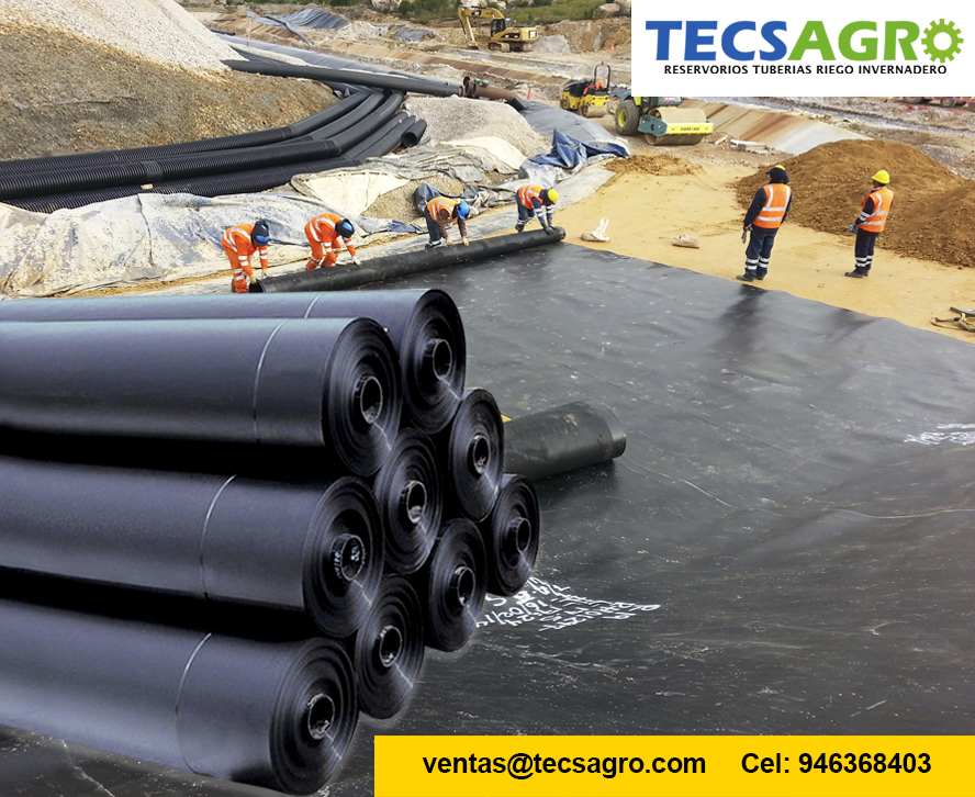 Comprar GEOMEMBRANA HDPE PVC Y GM13