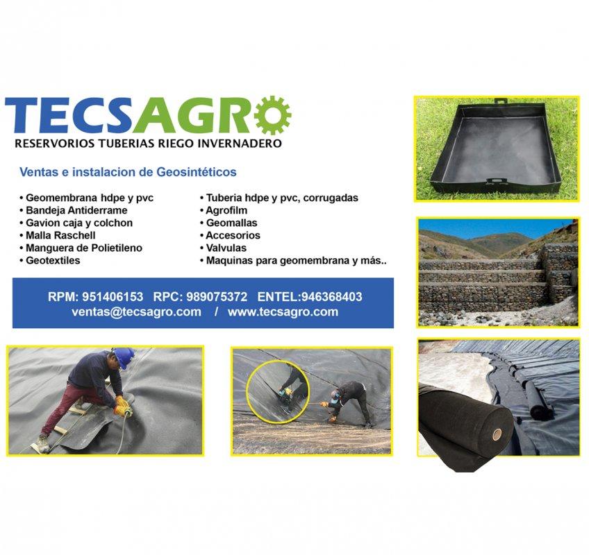 Comprar Geomembranas en Peru
