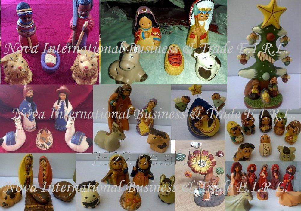 Comprar Belenes y Adornos de navidad hechos a mano - Artesanía Peruana