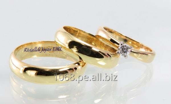 Comprar Anillos de boda Oro 18k peruano