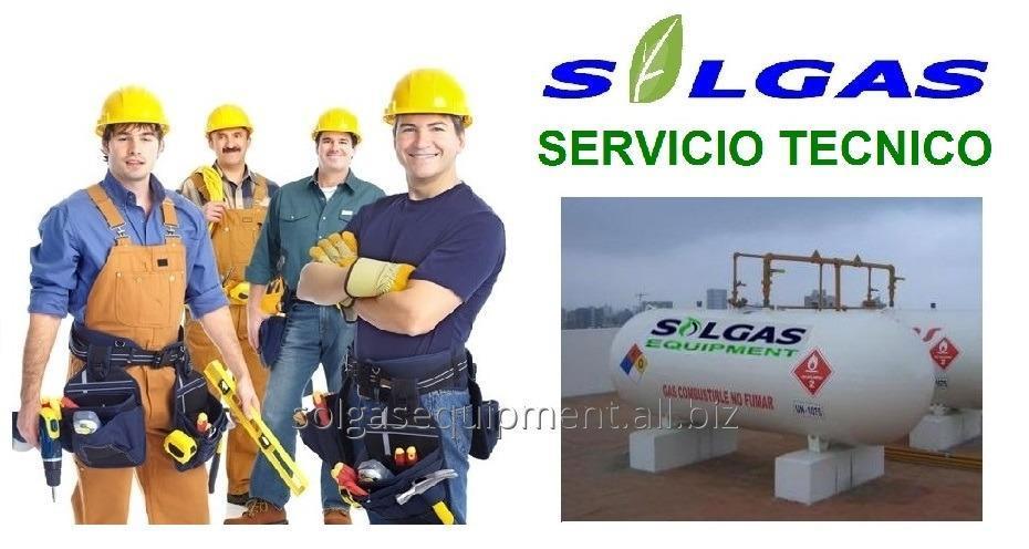 Comprar Servicio tecnico especializado gas