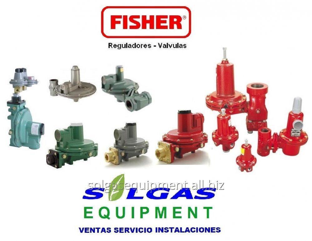 Comprar Fisher reguladores para gas