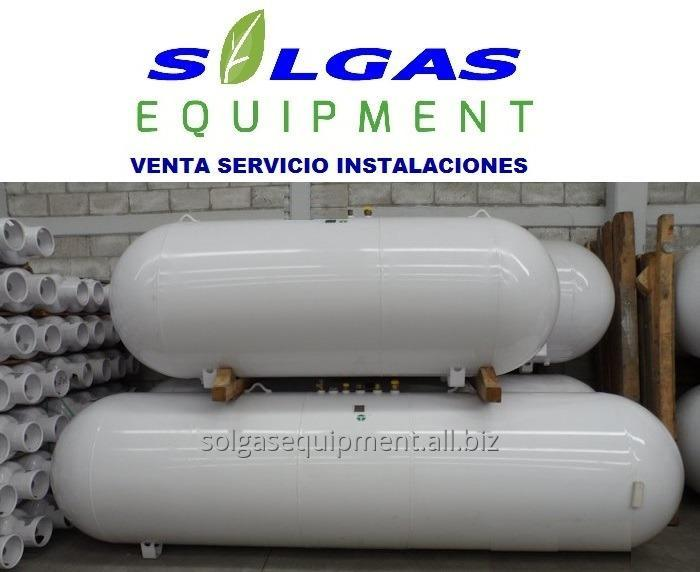 Comprar Tanque horizontales para gas