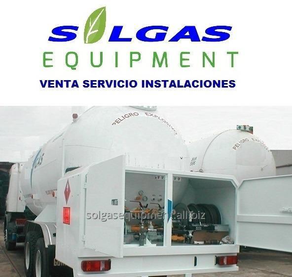 Comprar Tanque graneleros para gas
