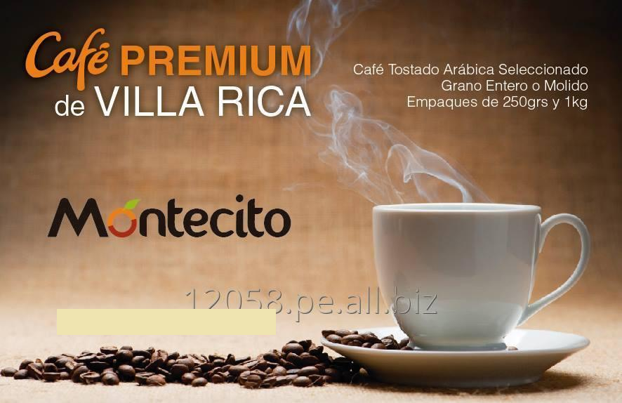 Comprar Café Montecito de Villa Rica, Perú 1kg Café Premium Molido o Entero