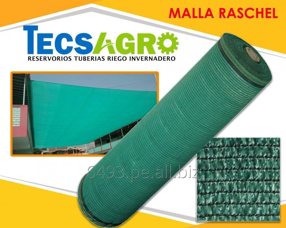 Comprar  Malla Raschell de 35%. 50%, 65%, 80%, 90% Y 95%