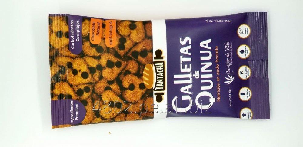 Comprar Galleta de Quinua, Ingredientes A1 y 100% harinas integrales