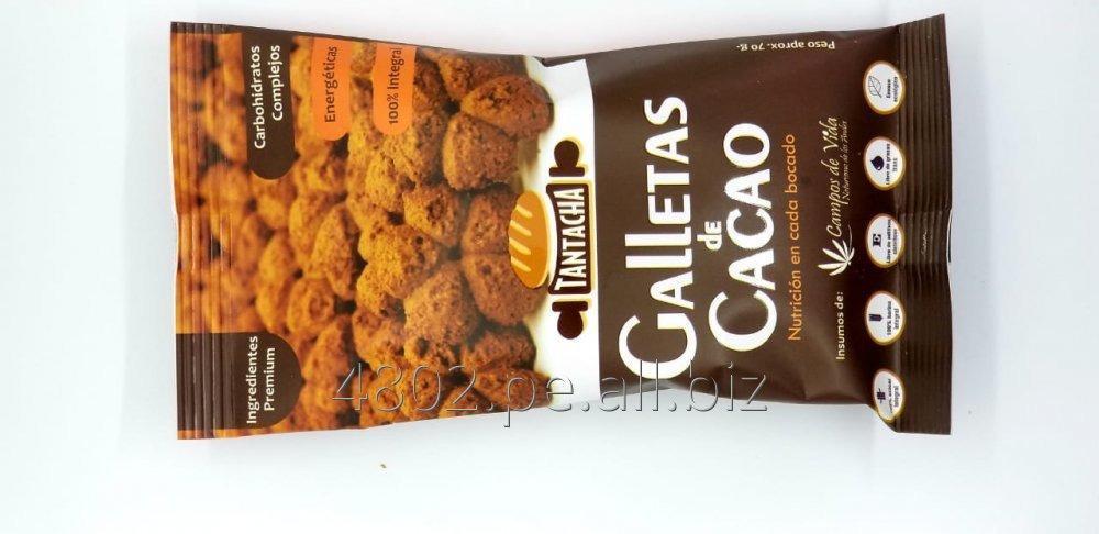 Comprar Galleta de Cacao, Ingredientes A1 y 100% harinas integrales