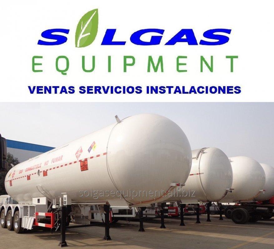 Comprar TANQUE PARA GAS INDUSTRIAL