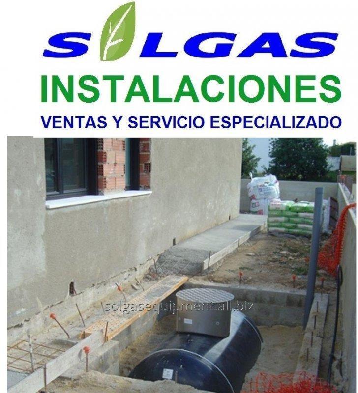 Comprar TANQUE SOTERRADO PARA GAS