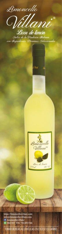 Comprar Limoncello Villani clásico 500ml