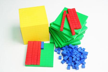 Comprar Juego Multibase Didáctico - Base Diez Colores